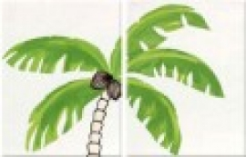 BONGOBONGO! decor пальма 25x33