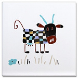 MOOOH Cows coloured 25*25 (набор из 3 шт)