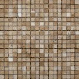 Мозаика 1,5*1,5, сетка 30,5*30,5*7 Iran Travertine