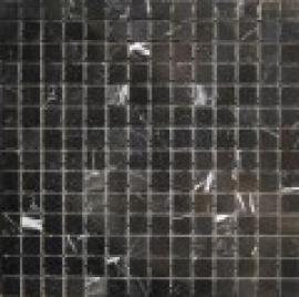 Мозаика 2*2, сетка 30,5*30,5*7 Black Marquina