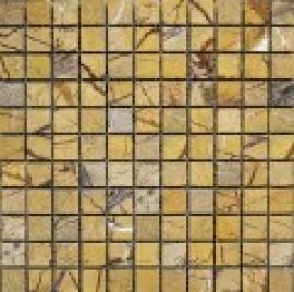 Мозаика 2.5*2.5, сетка 30,5*30,5*7 Rain Forest Brown