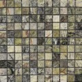 Мозаика 2.5*2.5, сетка 30,5*30,5*7 Rain Forest Green