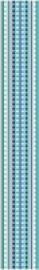 Listelo Righe Peonia 5,8x40