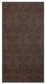 Dasha Damasc Chocolat 23,5x45