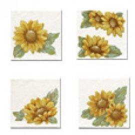 FAMOS sunflowers 10*10 (4 шт в упак.)