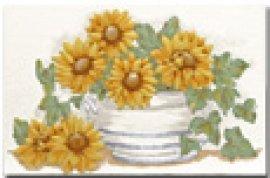 FAMOS sunflowers (панно) 31,2*20,7