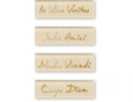 JASBA-AMAR Latinum, bamboo-beige,glass, 10*3 (4 шт у упак)