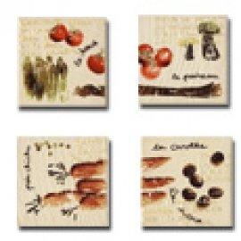JASBA-SENJA Vegetables maple (4 шт в упак)
