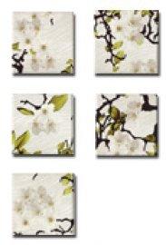 JASBA-SENJA Cherry flower natural white (5 шт в упак)
