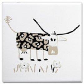 MOOOH Cows black 25*25 (набор из 3 шт)