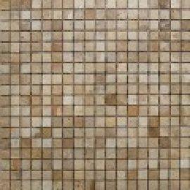 Мозаика 1,5*1,5, сетка 30,5*30,5*7 Chinese Travertine